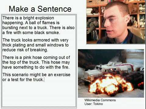 Learn English Make a Sentence and Pronunciation Lesson 76: Explosion and Truck