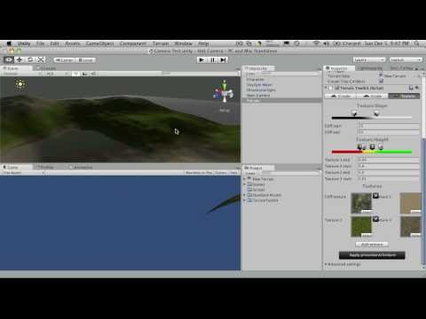 84. Unity3d Tutorial - Camera Controls Part 1
