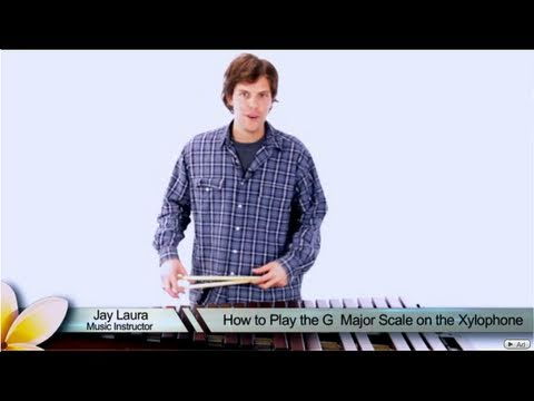 How to Play a G Major Arpeggio on the Xylophone