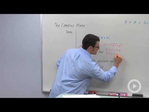 Precalculus - Trigonometric Form of Complex Numbers