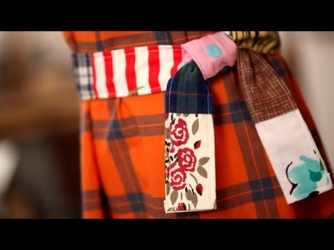 Patchwork Belt: How to Make || Kin DIY