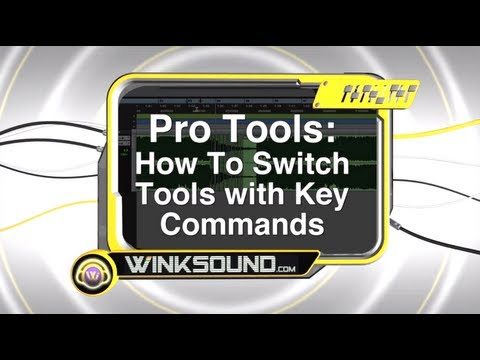 Pro Tools: How To Switch Tools with Key Commands