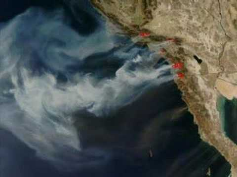 NASA Satellite Images of California Wildfires: 10/24 Update