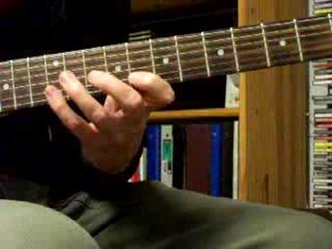 Slurring 3 notes per string with C major scale