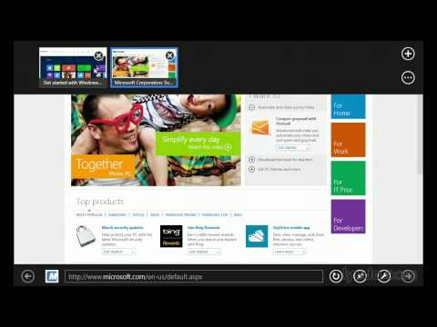 Using Internet Explorer with Windows 8 | lynda.com tutorial