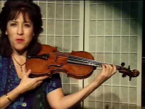 "Violin Lesson - Vibrato, ""The Trolley Car Exercise"""