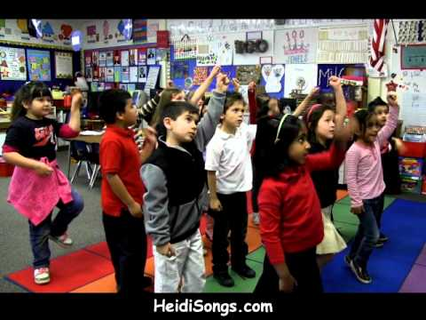 Orange Song - Sight Word color song