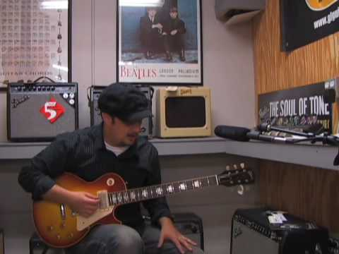 Slash from GNR guns n rose velvet revolver uses Gibson les Paul Sunburst Guitar Review