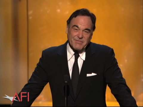 Oliver Stone Salutes Al Pacino at AFI Life Achievement Award