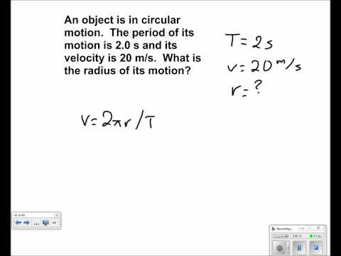 Uniform Circular Motion Presentation #17