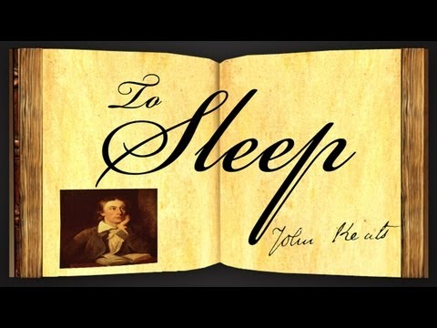Pearls Of Wisdom - To Sleep by John Keats - Poetry Reading