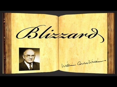 Pearls Of Wisdom - Pearls Of Wisdom - Blizzard by William Carlos Williams - Poetry Reading
