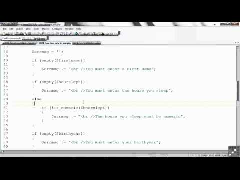 PHP / MySQL Tutorial | Working with Data | InfiniteSkills
