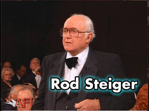 Rod Steiger Salutes Sidney Poitier at AFI Life Achievement Award