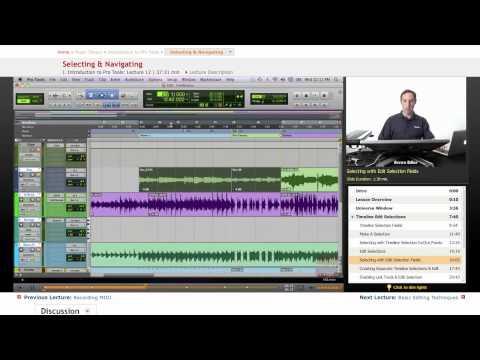 Pro Tools Lesson: Navigating Pro Tools