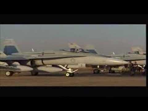 RAAF - F/A-18 Hornet Landing Royal Australian Air Force