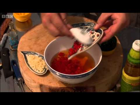 Prawns and Pork on Sugar Cane - Hairy Bikers Cookbook - BBC
