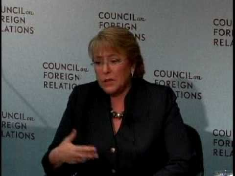 The David A. Morse Lecture with Michelle Bachelet