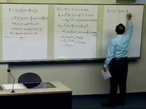 Runge Kutta 2nd Order Method: Ralston Method: Part 2 of 2