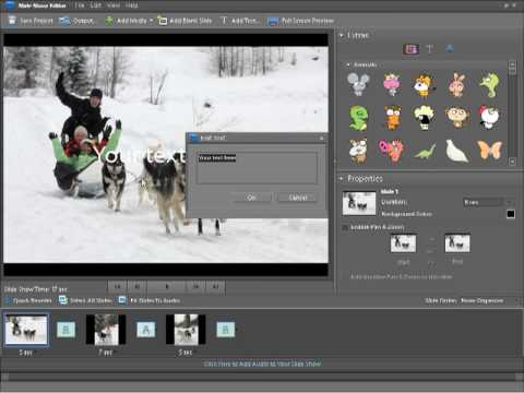 Photoshop Elements 7 Tutorial - Creating a slideshow