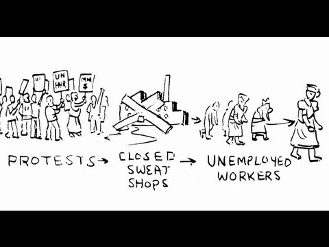 Top 3 Ways Sweatshops Help The Poor Escape Poverty