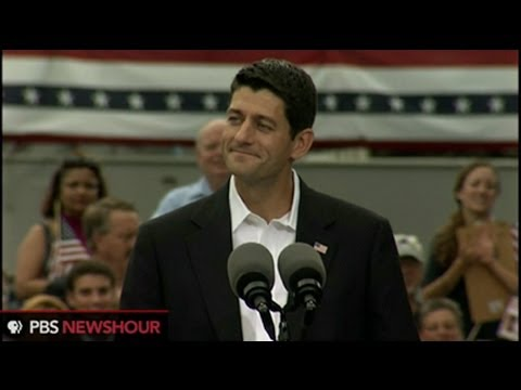 Watch Mitt Romney Announce Paul Ryan as Running Mate
