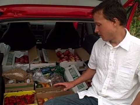 Trunk Full of Fruit - Where do you get your calories on a Raw Food Diet?
