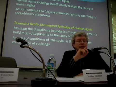 Sociology & Human Rights 4/4 by Mathieu Deflem