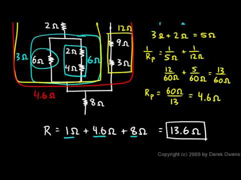 Physics 13.4.2h - Circuit Reduction Example