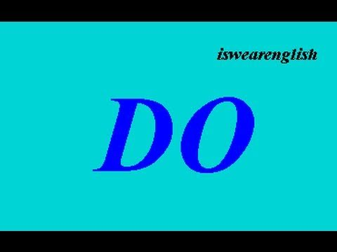 To Do - Explained with examples - ESL British English Pronunciation