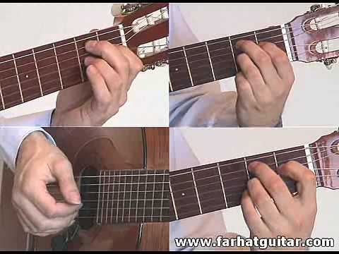 Yesterday - The Beatles Guitar lesson part 2 farhatguitar.com