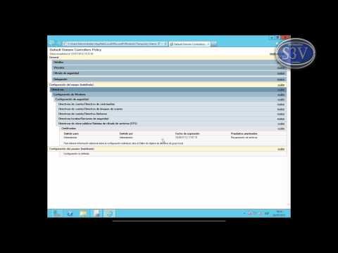 Windows Server 2012 - GPO - Copias de seguridad
