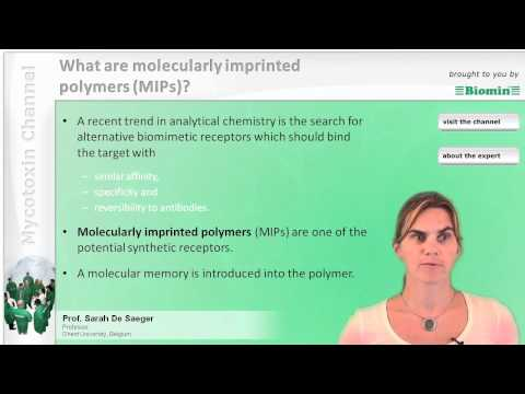 What are molecularly imprinted polymers (MIP's)?