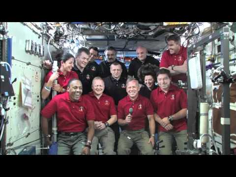 President Obama Calls On-Orbit Crews