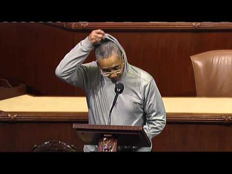 Rep. Bobby Rush Kicked Off House Floor for Wearing Hoodie in Support of Trayvon Martin