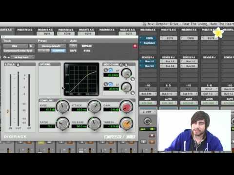 Understanding a Compressor - Pro Tools 9