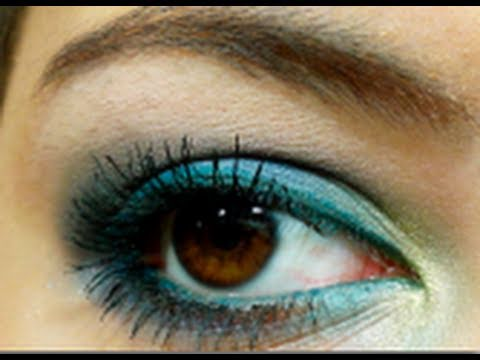 Tutorial: Green & Blue Shimmer