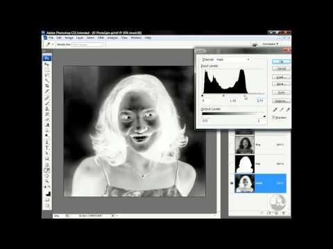 Photoshop: Masking a softly focused model   lynda.com