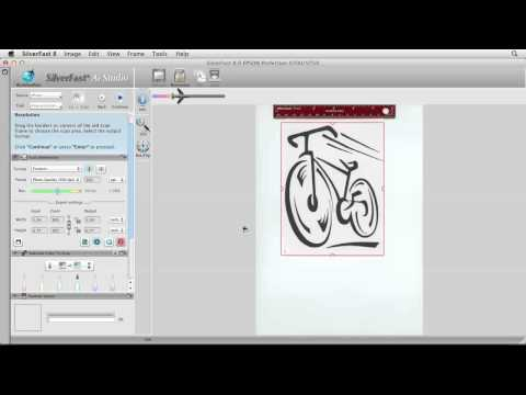 SilverFast tutorial: How to scan simple line art | lynda.com