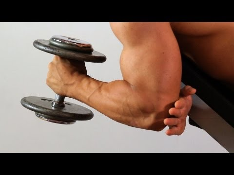 Prone Hammer Curl | Home Arm Workout for Men