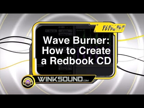 Waveburner: Overview Of The Project Window | WinkSound