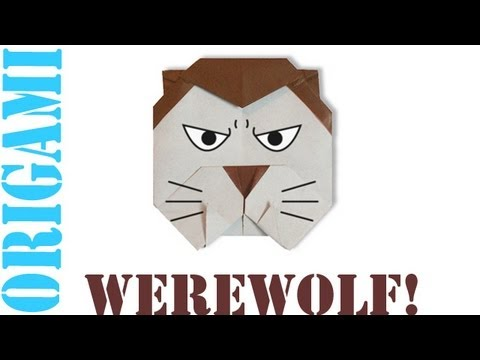 Origami Daily - 406: Halloween Werewolf - TCGames [HD]