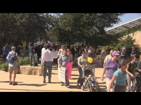 Occupy Austin Protestors March on Chase Bank Occupy Wall Street |