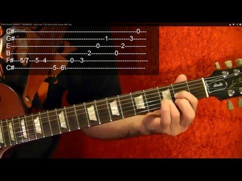 NOVEMBER RAIN Guitar Lesson by GUNS N ROSES ( Video #1 ) WITH TABS