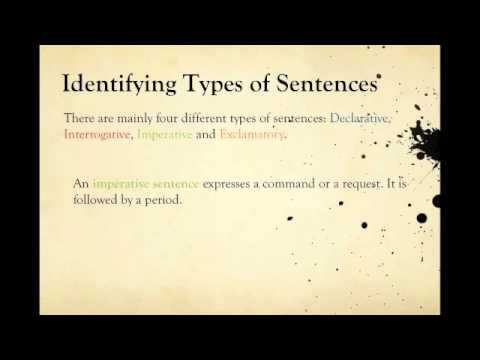 STS English   Types of Sentences by Tenecia MST