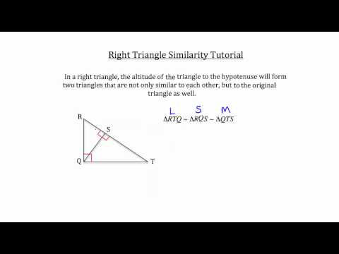 Right Triangle Similarity