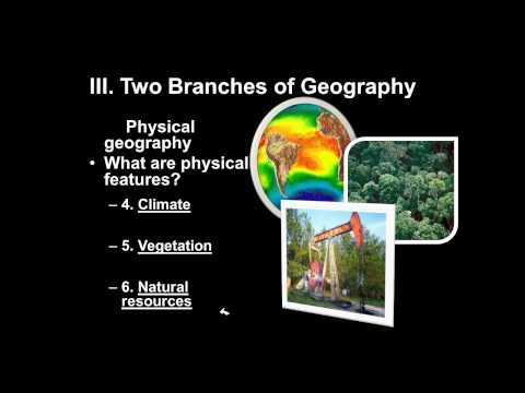 Themes of Geography Part 1