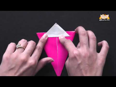 Origami -  Make a Bunny Rabbit