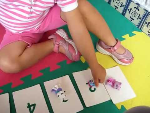 Toddler - Math. Number and following instructions