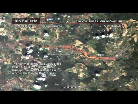 Science Bulletins: Toxic Sludge Caught on Satellite